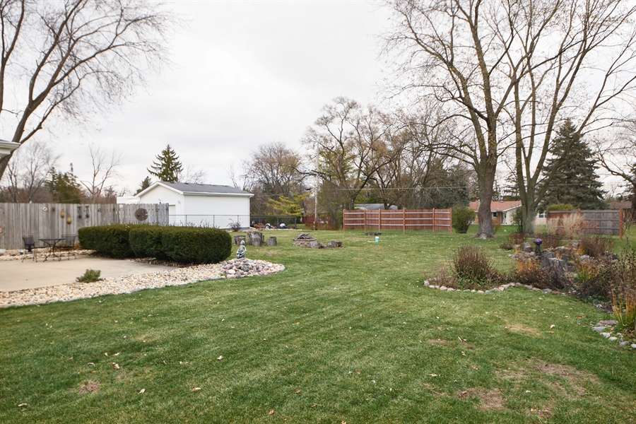 Real Estate Photography - 16351 RIDGELAND Avenue, Tinley Park, IL, 60477 - Back Yard
