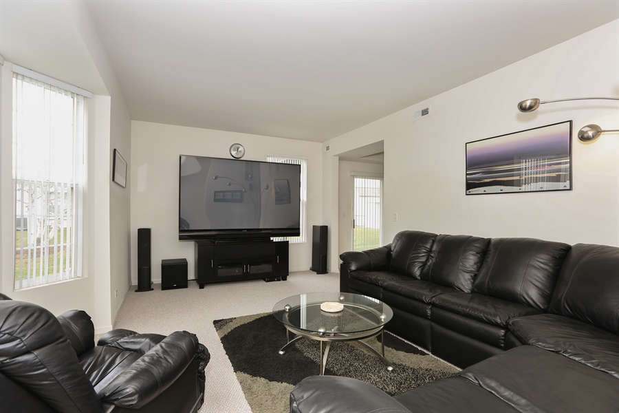 Real Estate Photography - 24928 Franklin Lane, Plainfield, IL, 60585 - Living Room