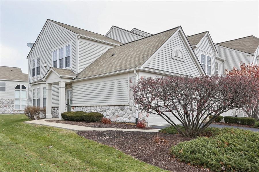Real Estate Photography - 24928 Franklin Lane, Plainfield, IL, 60585 - Front View