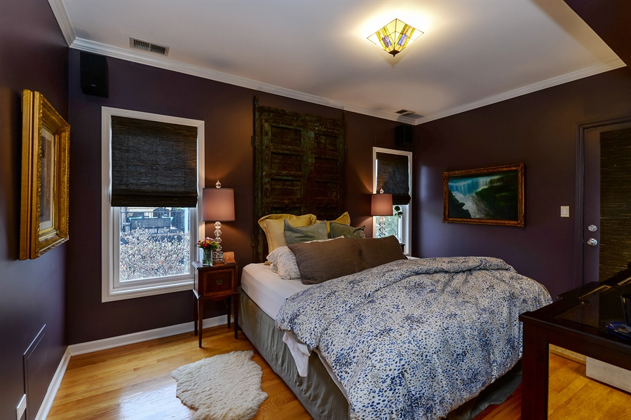 Real Estate Photography - 5638 North Wayne Ave, 3, Chicago, IL, 60660 - Master Bedroom