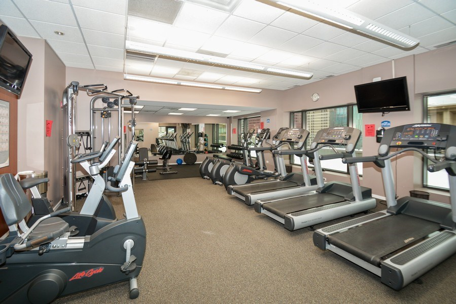 Real Estate Photography - 520 S. State Street, Unit 1109, Chicago, IL, 60605 - Exercise Room
