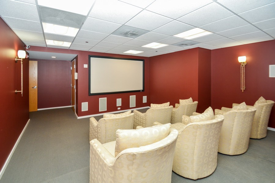 Real Estate Photography - 520 S. State Street, Unit 1109, Chicago, IL, 60605 - Theater