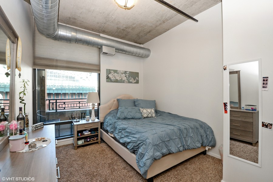 Real Estate Photography - 520 S. State Street, Unit 1109, Chicago, IL, 60605 - 2nd Bedroom