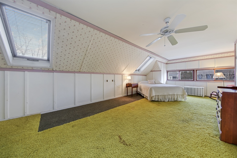 Real Estate Photography - 681 Pleasant Ave, Glen Ellyn, IL, 60137 - Master Bedroom