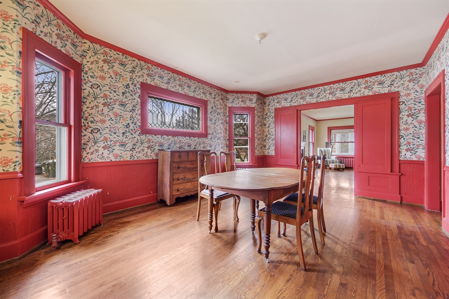Real Estate Photography - 681 Pleasant Ave, Glen Ellyn, IL, 60137 - Dining Room