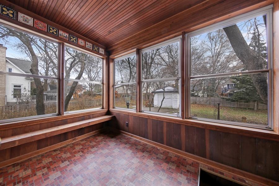 Real Estate Photography - 681 Pleasant Ave, Glen Ellyn, IL, 60137 - Sun Room