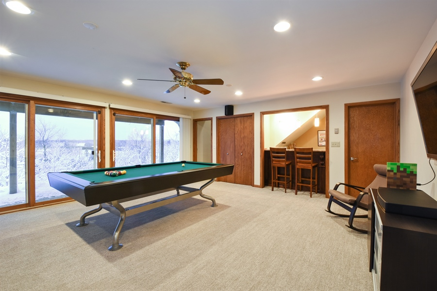 Real Estate Photography - 578 W. Signal Hill Road, North Barrington, IL, 60010 - Basement