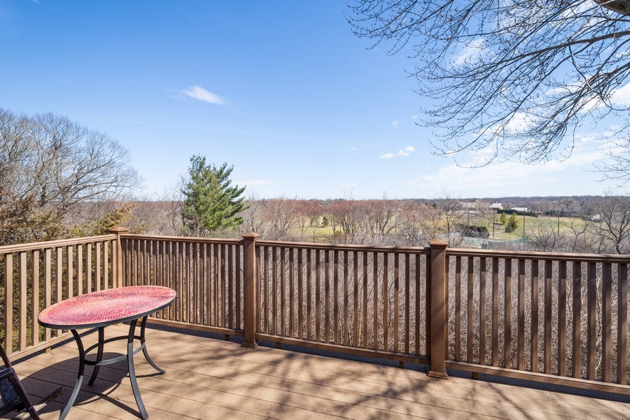 Real Estate Photography - 578 W. Signal Hill Road, North Barrington, IL, 60010 - Balcony