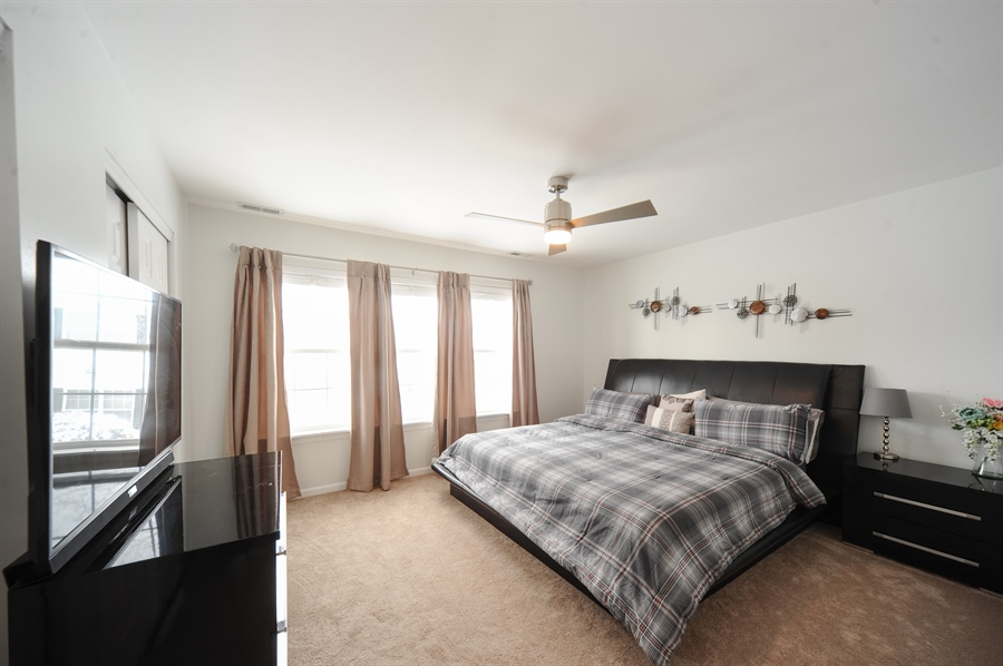 Real Estate Photography - 3154 FALLING WATERS Lane, Unit 3154, Lindenhurst, IL, 60046 - Master Bedroom