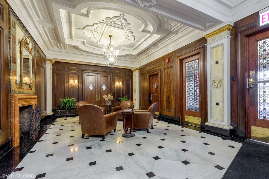 Real Estate Photography - 5510 N. Sheridan Road, Unit 8A, Chicago, IL, 60640 - Lobby