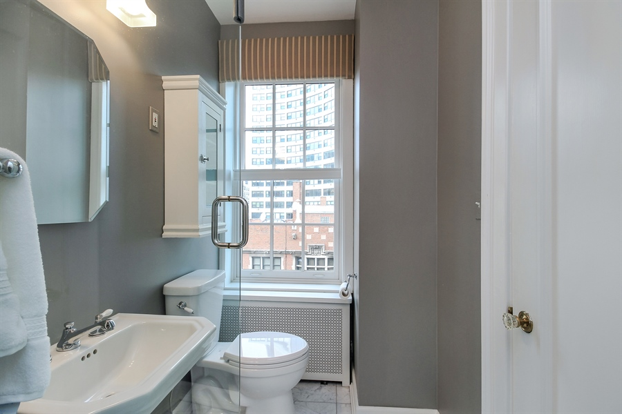 Real Estate Photography - 1120 N. Lake Shore Drive, Unit 11C, Chicago, IL, 60611 - Master Bathroom