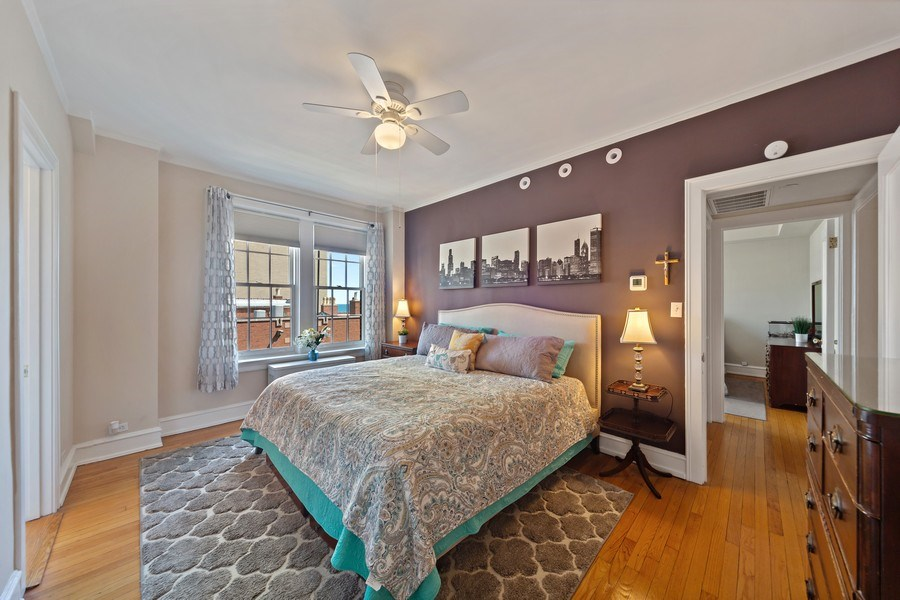 Real Estate Photography - 1120 N. Lake Shore Drive, Unit 11C, Chicago, IL, 60611 - Master Bedroom