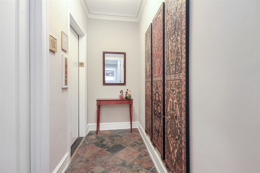 Real Estate Photography - 1120 N. Lake Shore Drive, Unit 11C, Chicago, IL, 60611 - Foyer