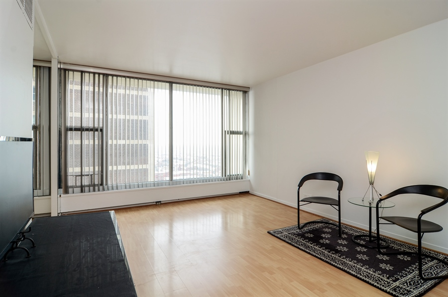 Real Estate Photography - 3200 N. Lake Shore Drive, Unit 2503, Chicago, IL, 60657 - Living Room