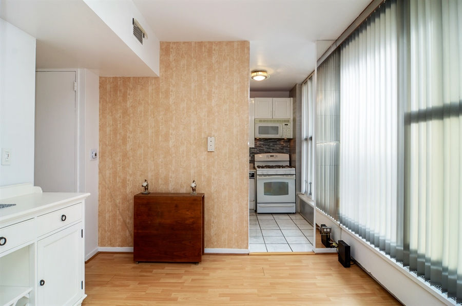 Real Estate Photography - 3200 N. Lake Shore Drive, Unit 2503, Chicago, IL, 60657 - Dining Room