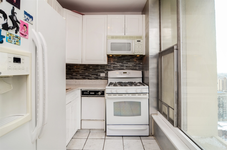Real Estate Photography - 3200 N. Lake Shore Drive, Unit 2503, Chicago, IL, 60657 - Kitchen