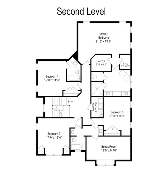 Real Estate Photography - 2022 Dewes Street, Glenview, IL, 60025 - Floor Plan