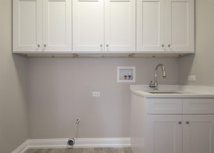 Real Estate Photography - 2022 Dewes Street, Glenview, IL, 60025 - Laundry Room