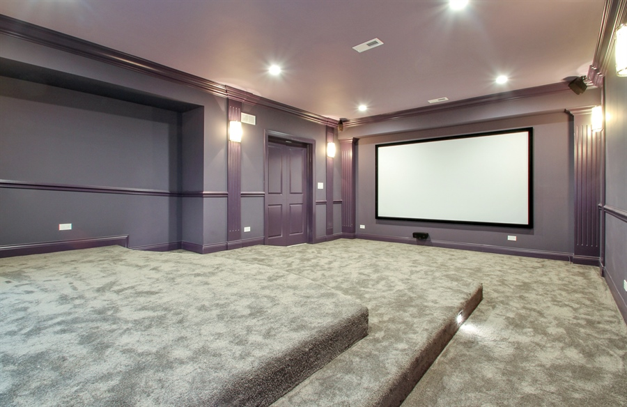 Real Estate Photography - 2022 Dewes Street, Glenview, IL, 60025 - Theater
