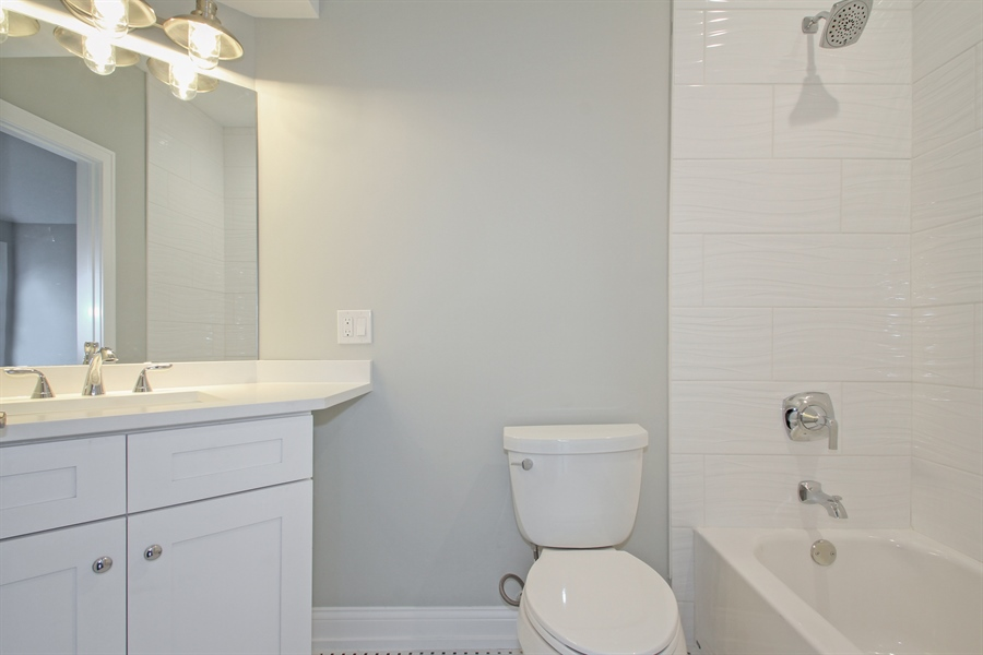 Real Estate Photography - 2022 Dewes Street, Glenview, IL, 60025 - Bathroom