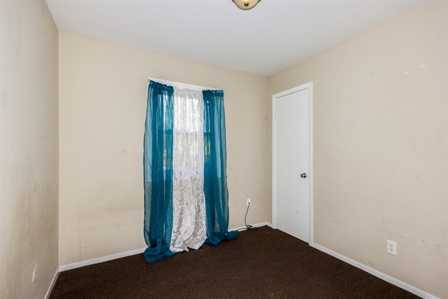 Real Estate Photography - 1208 Hague Street, Joliet, IL, 60432 - 2nd Bedroom
