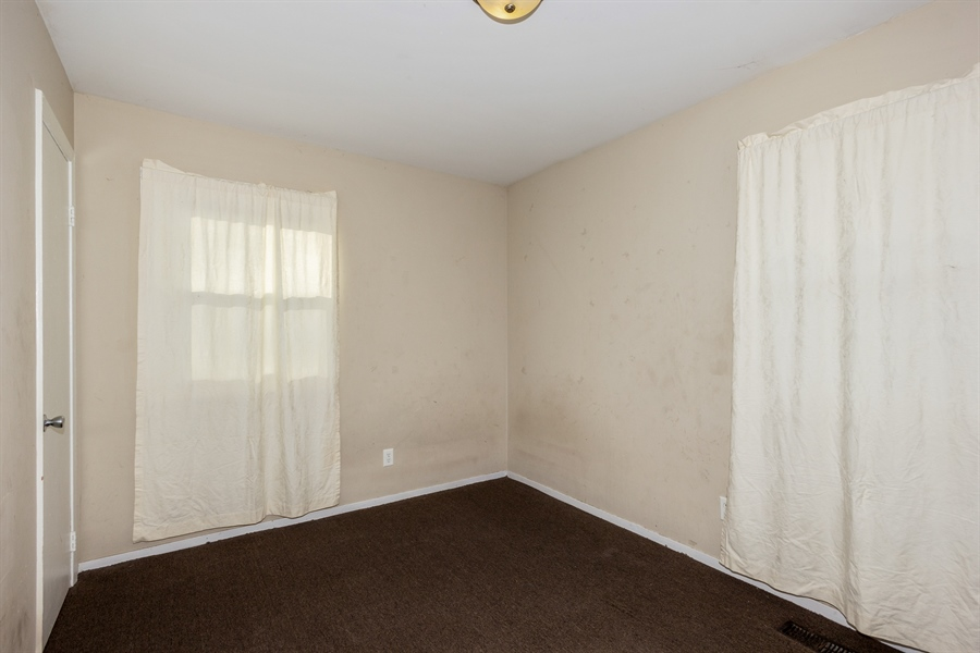 Real Estate Photography - 1208 Hague Street, Joliet, IL, 60432 - 3rd Bedroom