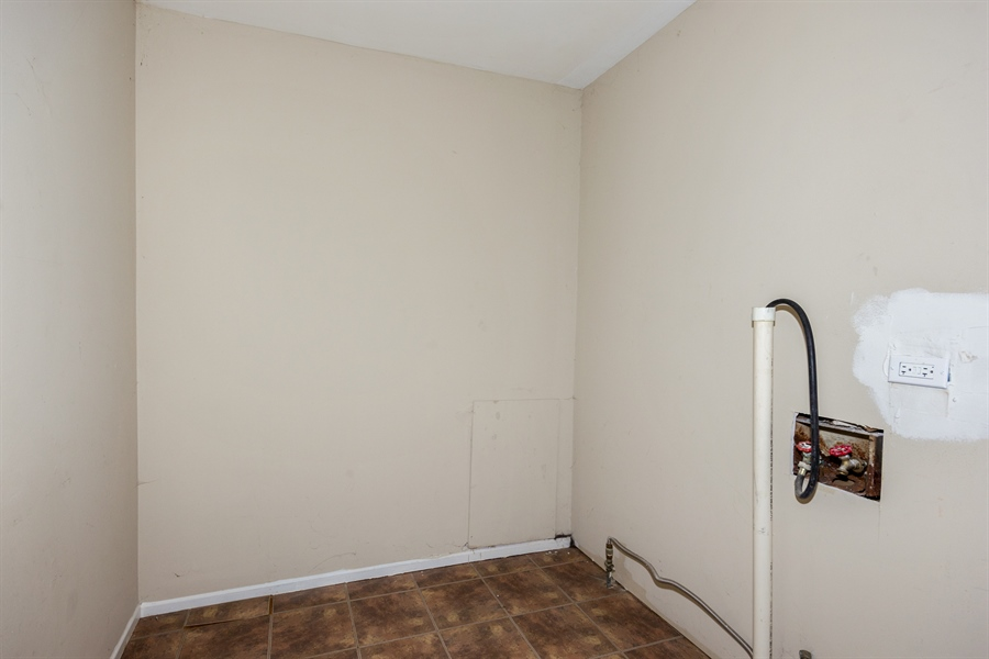 Real Estate Photography - 1208 Hague Street, Joliet, IL, 60432 - Laundry Room