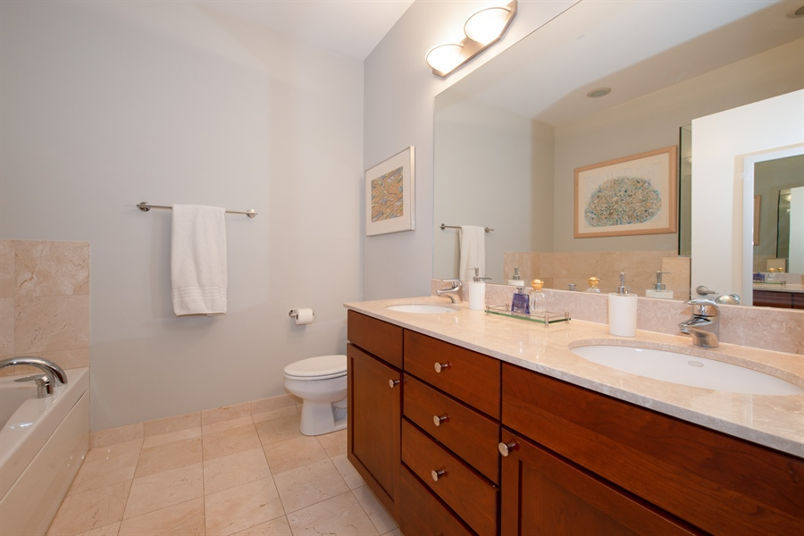 Real Estate Photography - 1600 N. MARSHFIELD Avenue, Unit 306, Chicago, IL, 60622 - Master Bedroom