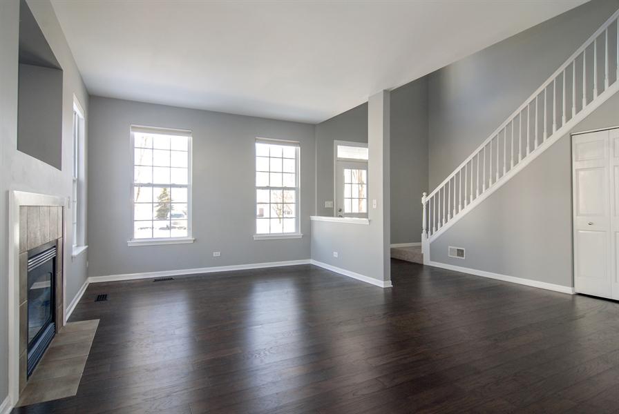Real Estate Photography - 188 Brompton Drive, Unit A, Sugar Grove, IL, 60554 - Living Room