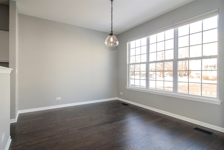 Real Estate Photography - 188 Brompton Drive, Unit A, Sugar Grove, IL, 60554 - Dining Room