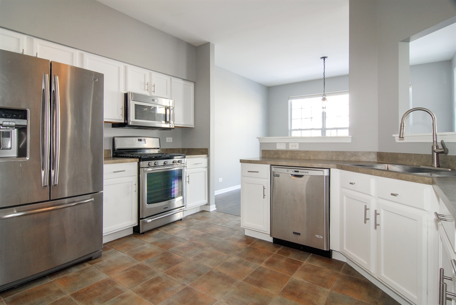 Real Estate Photography - 188 Brompton Drive, Unit A, Sugar Grove, IL, 60554 - Kitchen