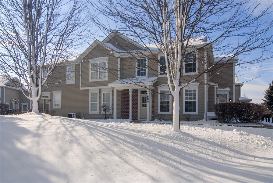 Real Estate Photography - 188 Brompton Drive, Unit A, Sugar Grove, IL, 60554 - Front View