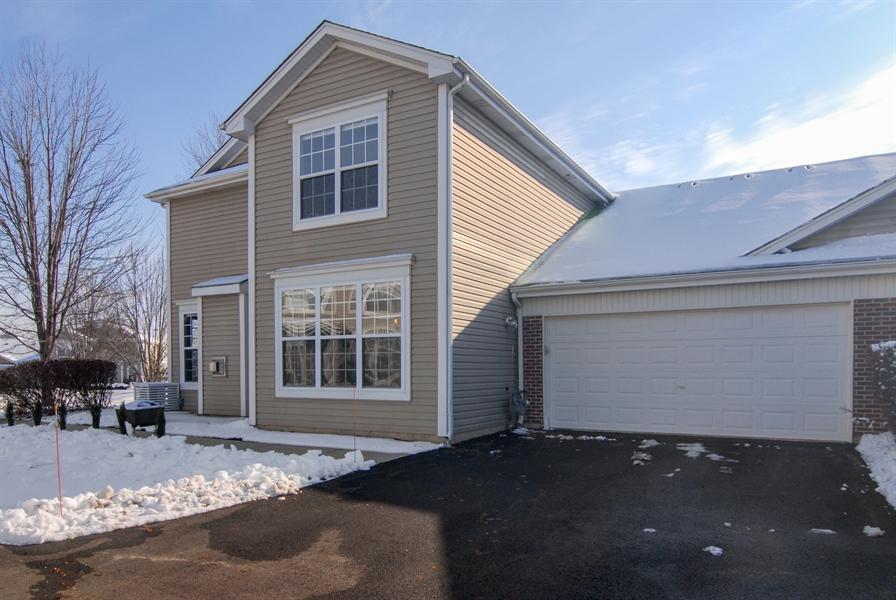 Real Estate Photography - 188 Brompton Drive, Unit A, Sugar Grove, IL, 60554 - Side View