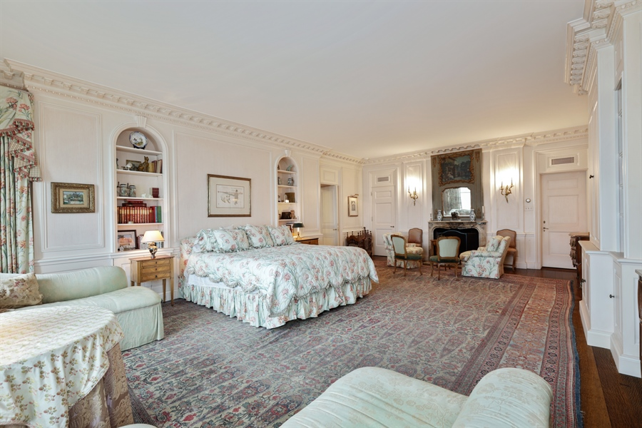 Real Estate Photography - 1500 N. Lake Shore Drive, Unit 11-12B, Chicago, IL, 60610 - Master Bedroom
