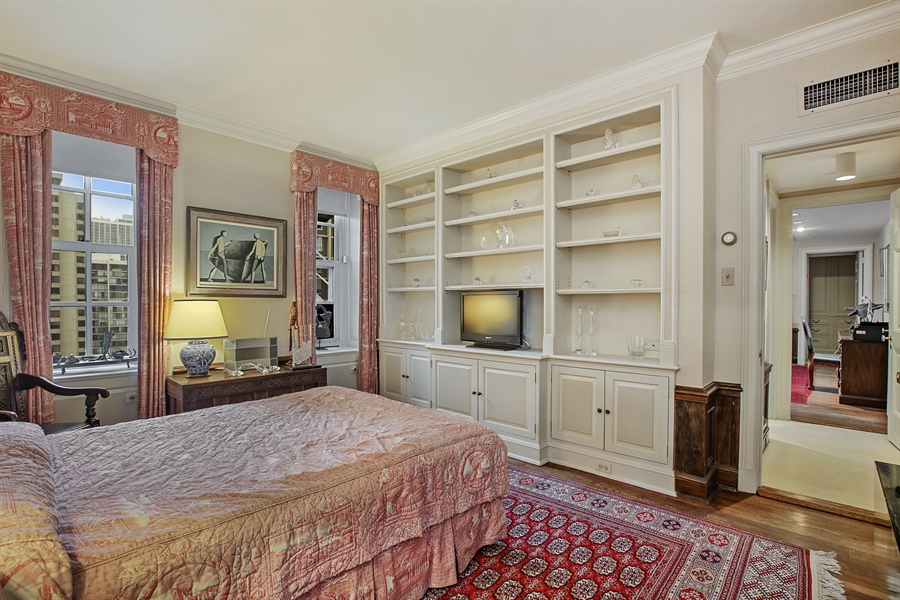Real Estate Photography - 1500 N. Lake Shore Drive, Unit 11-12B, Chicago, IL, 60610 - Bedroom Upper Level