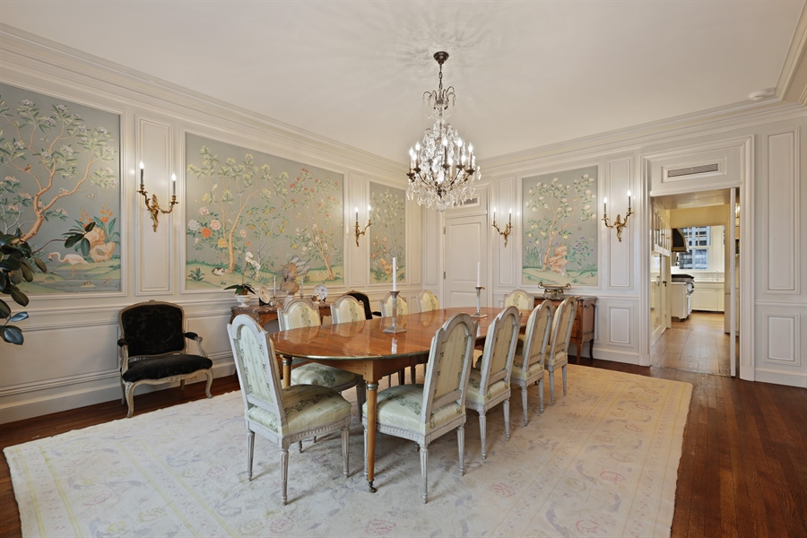 Real Estate Photography - 1500 N. Lake Shore Drive, Unit 11-12B, Chicago, IL, 60610 - Dining Room