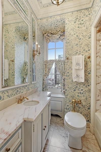 Real Estate Photography - 1500 N. Lake Shore Drive, Unit 11-12B, Chicago, IL, 60610 - Bathroom En-Suite Main Floor