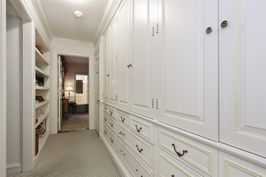 Real Estate Photography - 1500 N. Lake Shore Drive, Unit 11-12B, Chicago, IL, 60610 - Hallway Closet