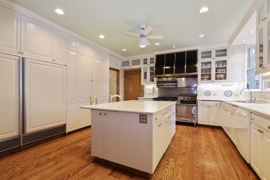 Real Estate Photography - 1500 N. Lake Shore Drive, Unit 11-12B, Chicago, IL, 60610 - Kitchen