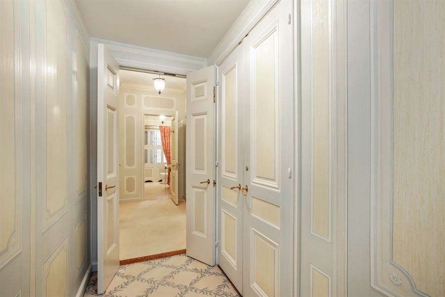 Real Estate Photography - 1500 N. Lake Shore Drive, Unit 11-12B, Chicago, IL, 60610 - Master Bedroom Closet