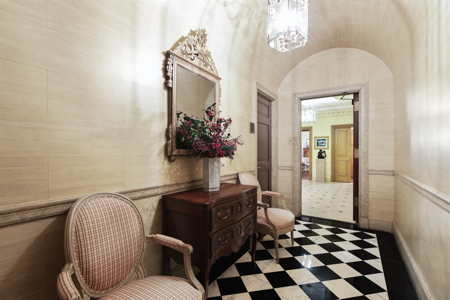 Real Estate Photography - 1500 N. Lake Shore Drive, Unit 11-12B, Chicago, IL, 60610 - Entryway