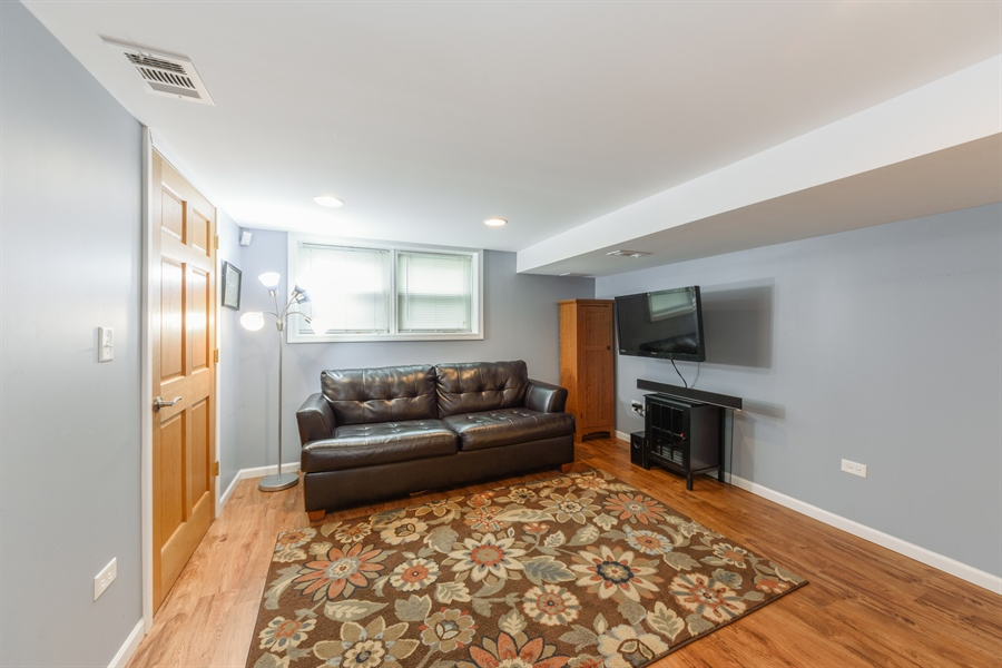 Real Estate Photography - 206 S. Forrest Avenue, Arlington Heights, IL, 60004 - Family Room