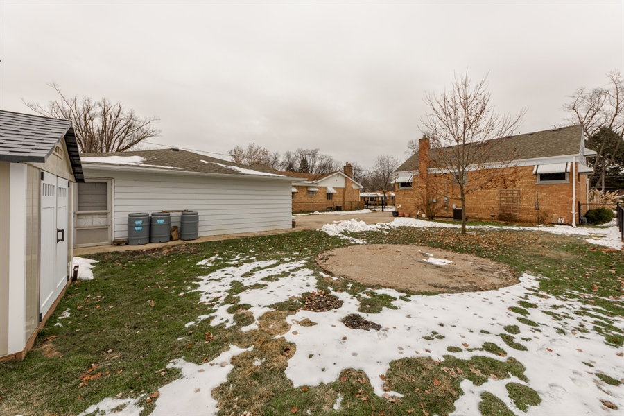 Real Estate Photography - 206 S. Forrest Avenue, Arlington Heights, IL, 60004 - Rear View