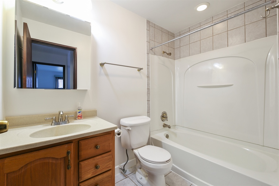 Real Estate Photography - 1258 Brown Street, Unit 102, Des Plaines, IL, 60016 - Bathroom