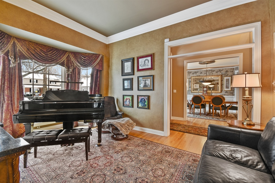 Real Estate Photography - 1221 Millet Street, Naperville, IL, 60563 - Comfortable music room awaits you