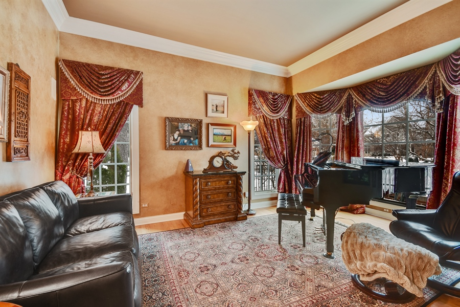 Real Estate Photography - 1221 Millet Street, Naperville, IL, 60563 - Spectacular details & expansive windows