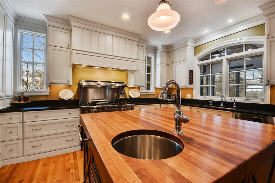 """Real Estate Photography - 1221 Millet Street, Naperville, IL, 60563 - Perfect """"prep"""" area- note the detail"""