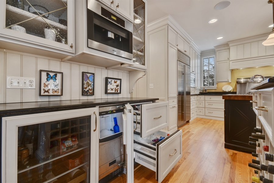 Real Estate Photography - 1221 Millet Street, Naperville, IL, 60563 - Beverage Center- Miele Coffee Station & more!