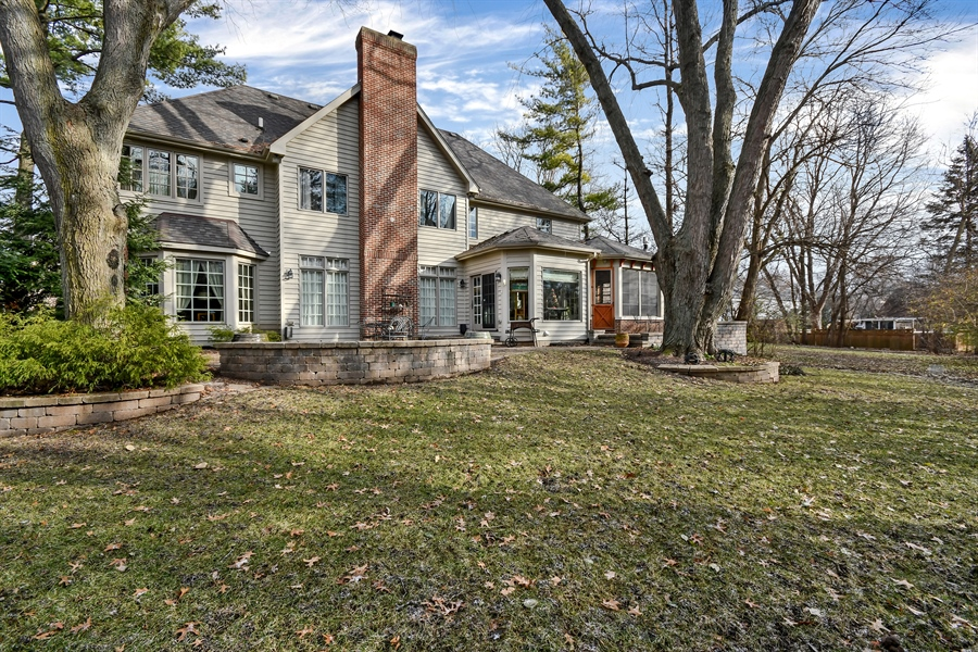 """Real Estate Photography - 1221 Millet Street, Naperville, IL, 60563 - Wooded beauty in this private """"tucked away"""" settin"""