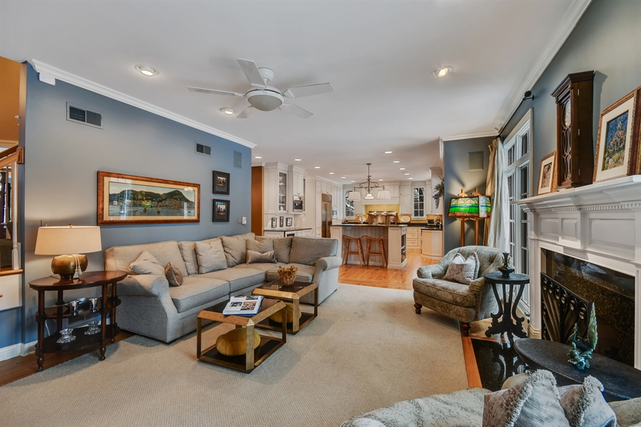Real Estate Photography - 1221 Millet Street, Naperville, IL, 60563 - Enjoy built in music with SONOS sound throughout